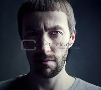 man portrait