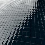 modern construction material from black plastic