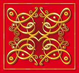 decorative oriental element