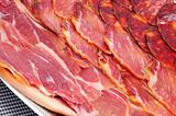 spanish embutido, typical cold meat