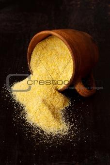 Cornmeal.