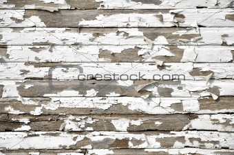 old paint on wood background