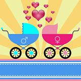 Stroller for baby