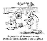 Dog suspicion
