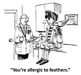 Feather allergy