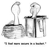 Snake bucket