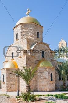 Greek Orthodox St.John the Baptist Church in baptism site