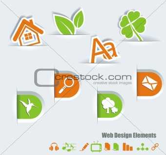 Web symbols set