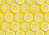 seamless background of lemon slices