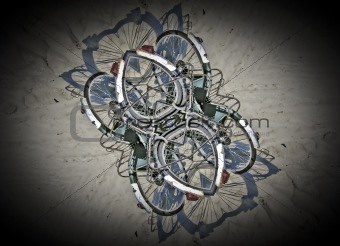 Abstracts bicycles