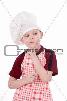 a boy chef