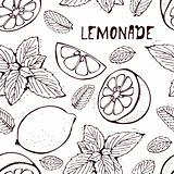 Lemonade vector pattern