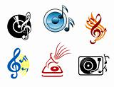 Musical icons and symbols