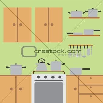 Kitchen room.