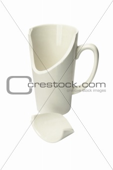 Broken Ceremic Mug
