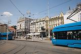 Trams in zagreb