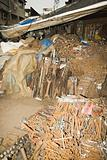 Tools at a scrapyard