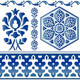 Some Islamic design elements