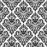 Damask wallpaper