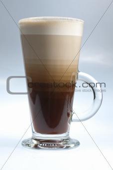 Layered coffee