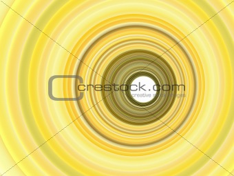 3d render abstract backdrop in multiple yellow