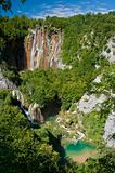 Plitvice lake waterfalls