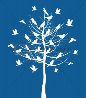 Tree a bird2