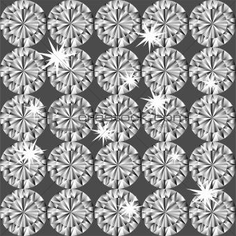 Diamond seamless pattern