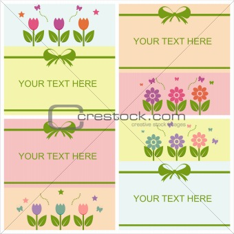 cute spring cards