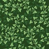 abstract ivy seamless repeat pattern background