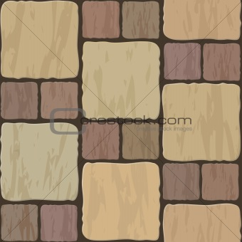 stone floor tile seamless background pattern