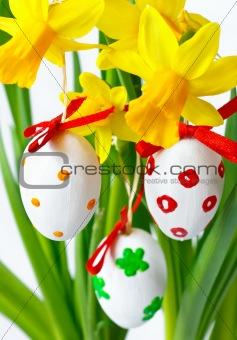 Beautiful easter eggs.