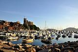 Lerici typical village, Castle and port in Liguria