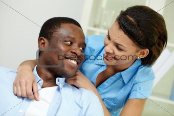African couple