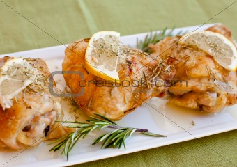 Grilled Rosemary Lemon Chicken