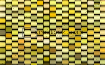 abstract 3d render multiple yellow backdrop pattern