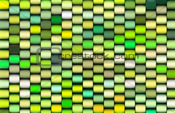 abstract 3d render multiple green cylinder backdrop pattern