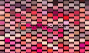 abstract 3d render multiple pink cylinder backdrop pattern