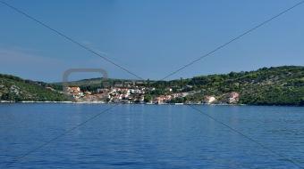 small coastline town