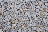 Rocky wall texture with smaller rocks