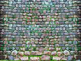 an ancient stone wall