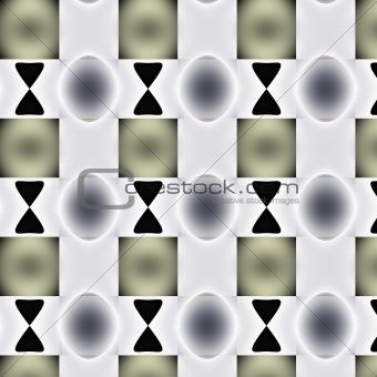 Around grey tones and gradients pattern.