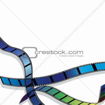 Film for photo or video record  background