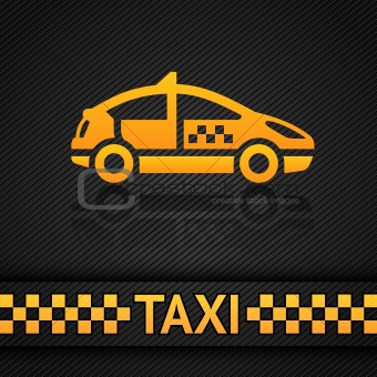 Racing background template, taxi cab backdrop