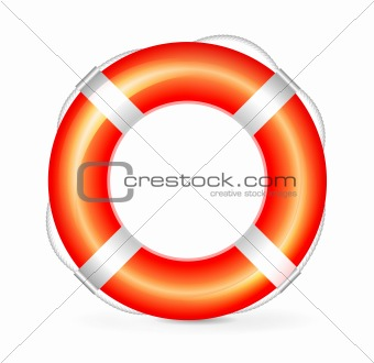 Lifebuoy red