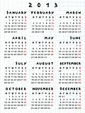 2013 calendar year of the snake
