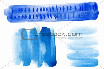 Abstract hand drawn watercolor backgrounds