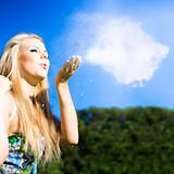 Cloud Creation With A Puff Of Magic