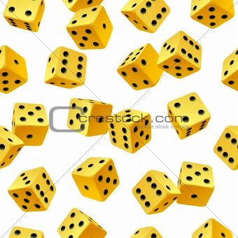 dice seamless background