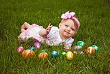 Easter Baby Smirk Lay